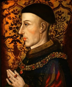 Portrait of King Henry V from the late 16th or early 17th century. (Credit: National Portrait Gallery, London)
