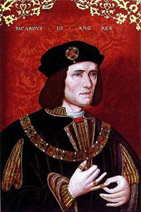 Richard III, as painted in the late 15th/16th century (Credit: National Portrait Gallery, London)