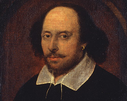 The mysterious author known to some as William Shakespeare. (Credit: National Portrait Gallery, London)